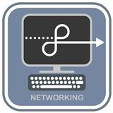 Networking - vector icon