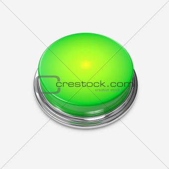 Green Alert Button glowing