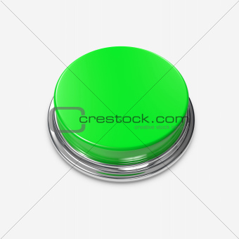 Green Alert Button blank