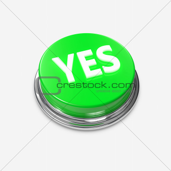 Green Alert Button Yes