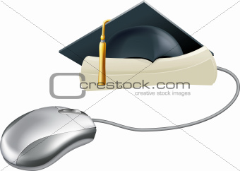 Graduation computer mouse concept