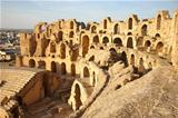 El Djem Amphitheatre in Tunisia