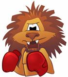 Lion boxer