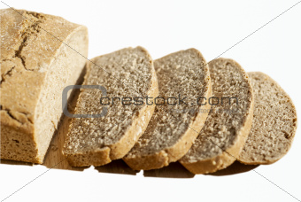 Organic yeast sliced bread