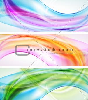 Bright elegant banners