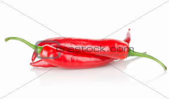 Three chili peppers