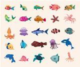cartoon fish icon