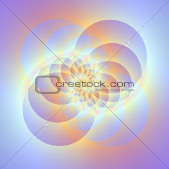 Four Circles Spiral