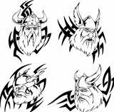 Viking heads