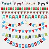 Christmas and New Year bunting