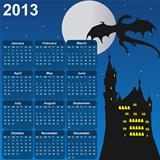 fairytale calendar for 2013