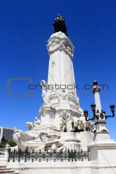 Marques de Pombal statue