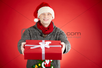Giving present