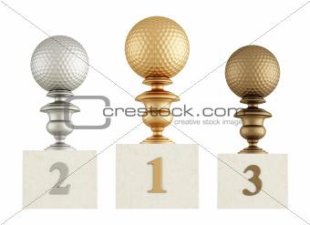 golf podium