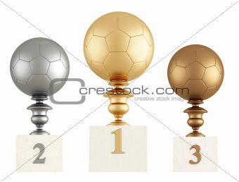 football podium