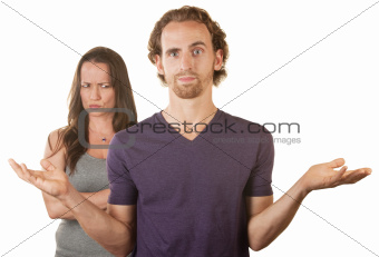 Skeptical Wife and Hopeless Woman