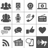 Media & Social Network Icons