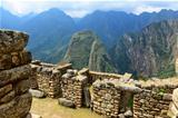Ruins Machu Picchu