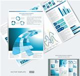 elegant business brochure design