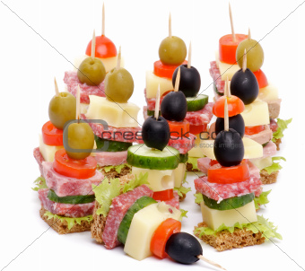 Arrangement of Canape