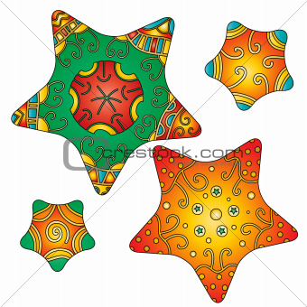 Colorful Star Collection