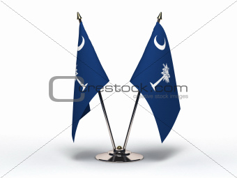 Miniature Flag of South Carolina (Isolated)