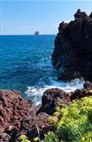Strombolicchio small island