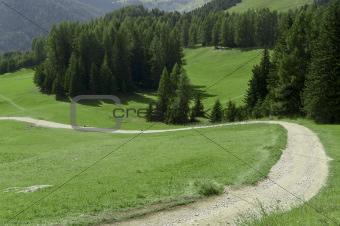 mountain road, Dolomites