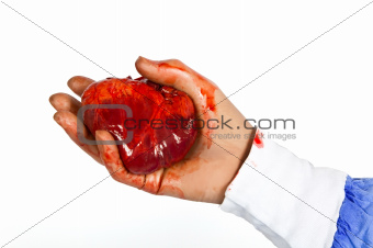 Surgeon with a heart