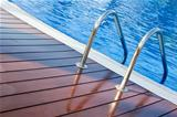 ladder swimming pool