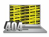 404 error laptop