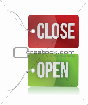 open and close tags