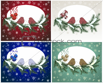 Christnas card set