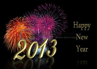 New Year 2013 Fireworks