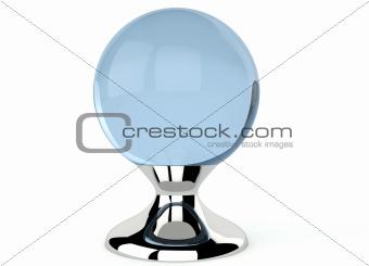 Empty crystal ball