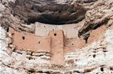 Montezuma castle Pueblo 