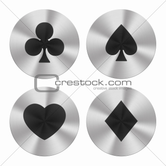 Playing cards group icons