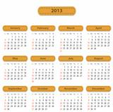 Calendar for 2013