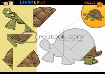 Cartoon turtle puzzle game