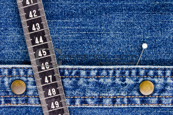 Denim and Measuring Tape