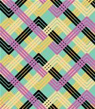 Colorful zigzag background