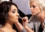 Make-up for the shoot