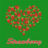Love strawberry concept