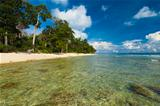 Shallow Crystal Clear Water Wild Pristine Beach