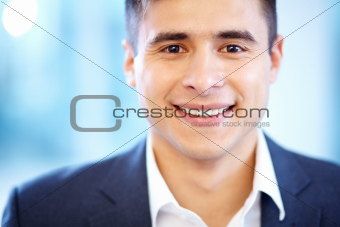 Face of businessman