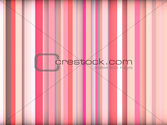 3d abstract pink backdrop in vertical stripes