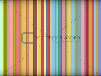 3d striped abstract backdrop in rainbow colors