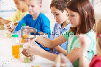 Break for food
