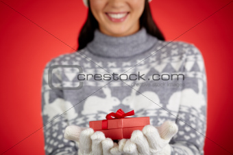 Gift on hands