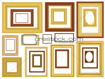 Decorative Vector Picture Frames